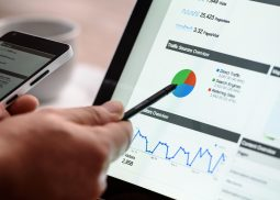 digital marketing stock image